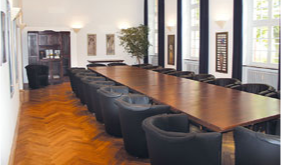 Seminarraum innerhalb des ZHTK in Wetzlar