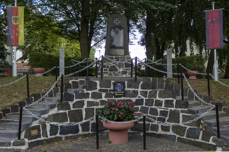 Denkmal zu Ehren der gefallenen Angehörigen der Unteroffiziersschule der Spilburg in Wetzlar