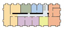 Erdgeschoss des Seminargebäudes des ZHTK
