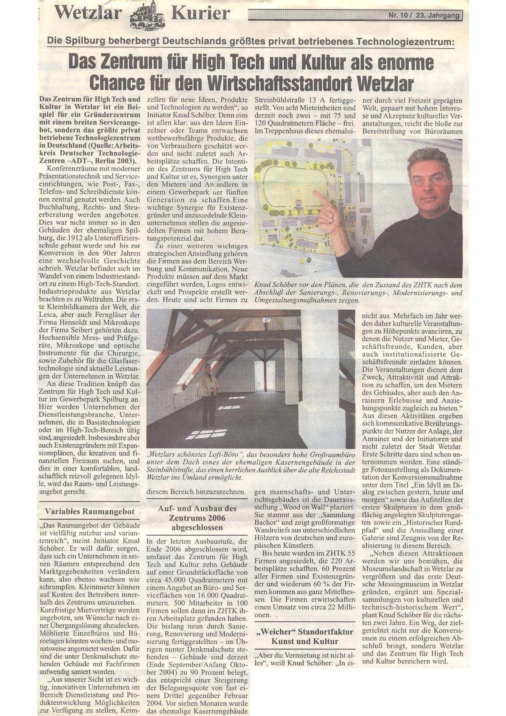 ZHTK Wetzlar Artikel